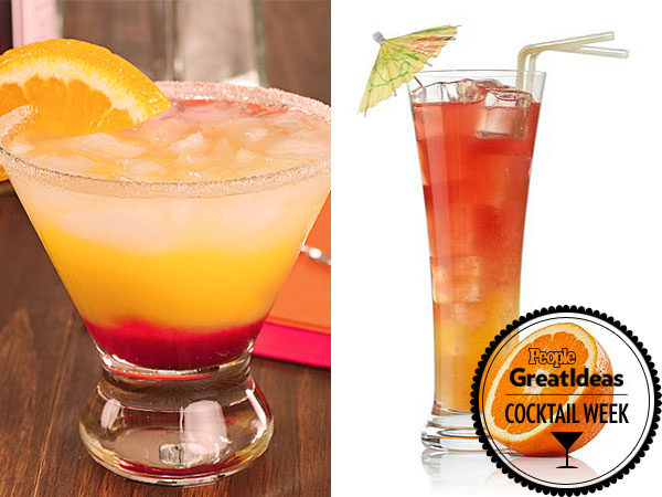 Tequila Sunrise and Tequila Sunset recipes