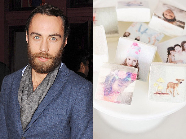 James Middleton Reveals Marshmallow Business