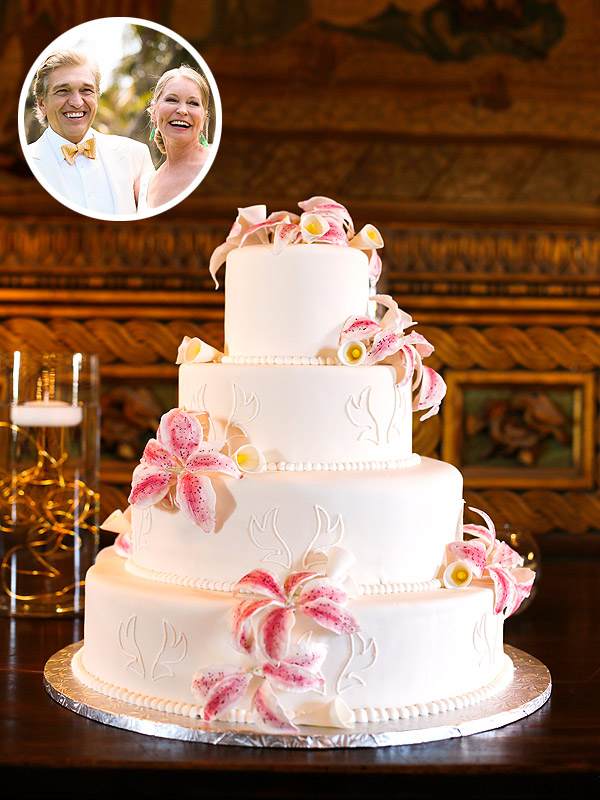 Lisa Niemi's Wedding Cake