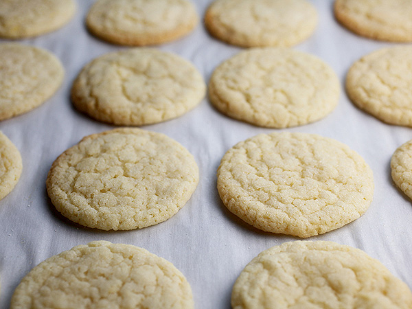 Bakerella's chewy lemon sugar cookies