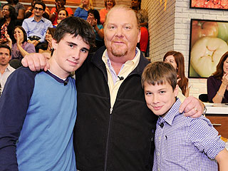 Mario Batali Says His Sons Have Been Cooking 'Since They Were Walking'