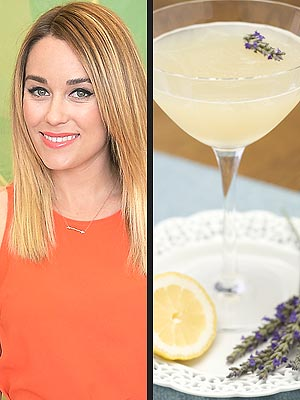 Lauren Conrad's Lavender Simple Syrup