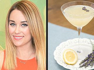 Lauren Conrad's Lavender Simple Syrup