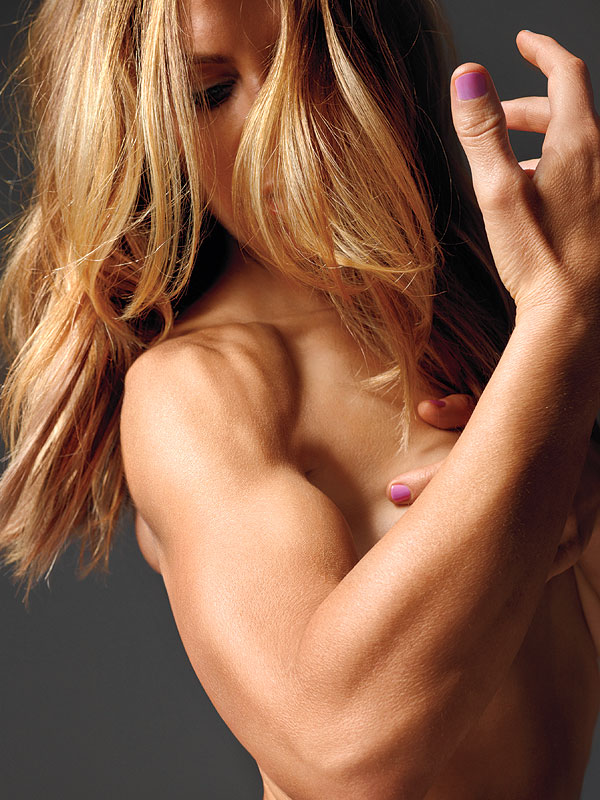 Jillian Michaels Poses Nude in Shape