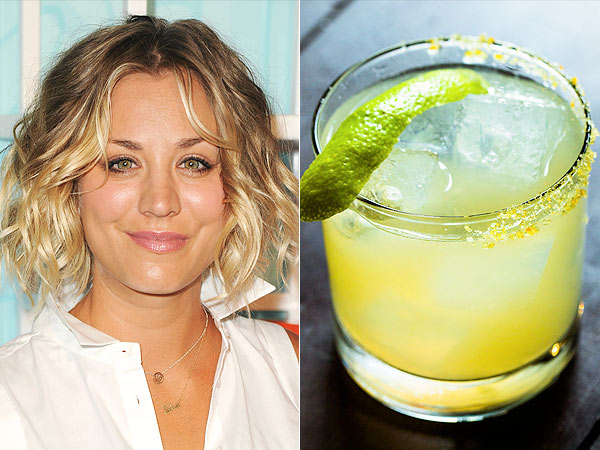 Kaley Cuoco; margarita