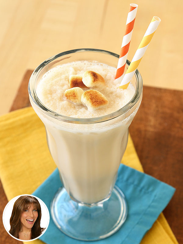 Hungry Girl's healthy marshmallow shake