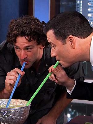 Jimmy Kimmel's Stanley Cup margaritas