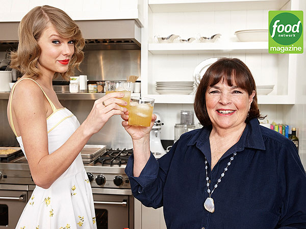 Taylor Swift Gets a Cooking Lesson From Barefoot Contessa Ina