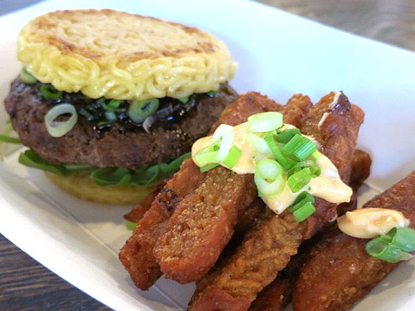 Ramen Burger and Ramen Fries