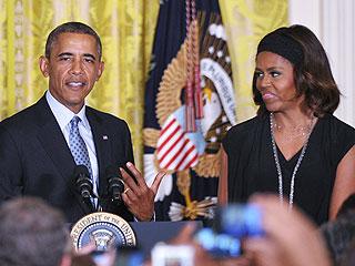 Barack Obama Salutes White House Pastry Chef