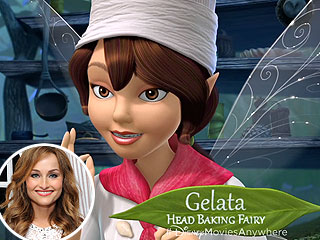 Giada De Laurentiis as a Disney Fairy