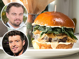 Leonardo DiCaprio and Robin Thicke Lunch Together