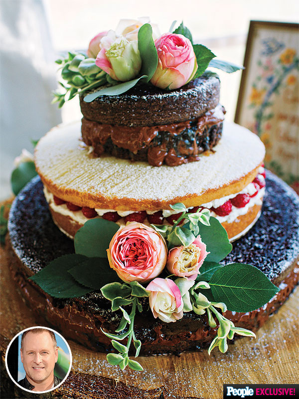 Dave-Coulier-wedding-cake
