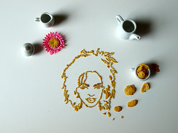 Cereal Art: Lauryn Hill