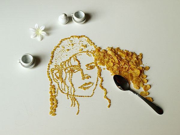 Cereal Art: Michael Jackson