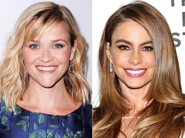 Reese Witherspoon and Sofia Vergara in New Orleans