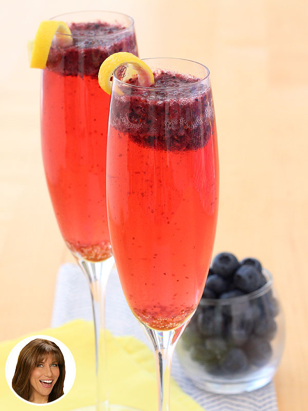 Recipe Redo (Guilt-Free!): Dina Manzo's Blueberry Lemon Bellini