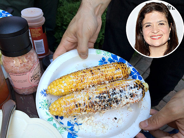 Alex Guarnaschelli Corn on the Cob with Aleppo-Garlic Butter