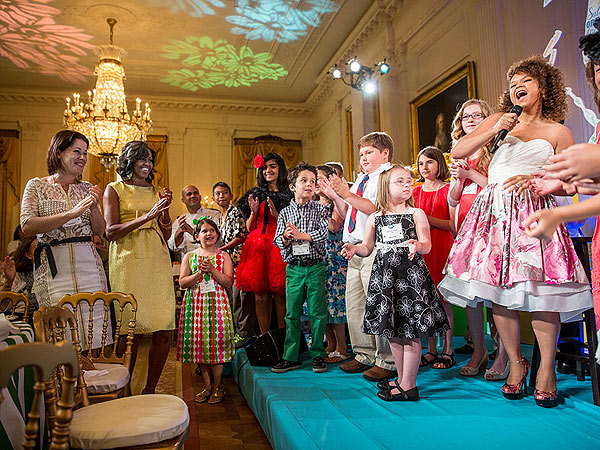 Michelle Obama White House Kids' State Dinner