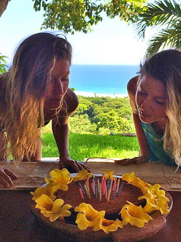 Gisele Bündchen Bikini Birthday