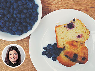 Alex Guarnaschelli Blueberry Coffee Cake Muffins Recipe