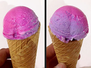 Color Changing Ice Cream