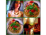 Billy Joel Cooks a Pasta Feast with Daughter Alexa Ray