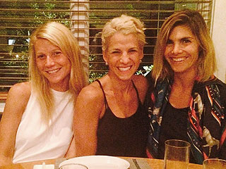 Gwyneth Paltrow & Jessica Seinfeld Dine on Sushi and Tequila in the Hamptons