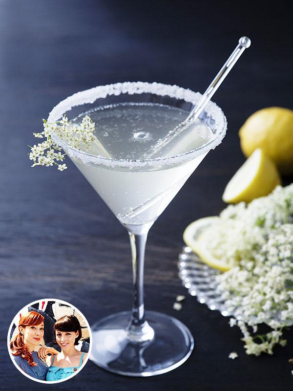 Alie & Georgia Elderflower Cocktail