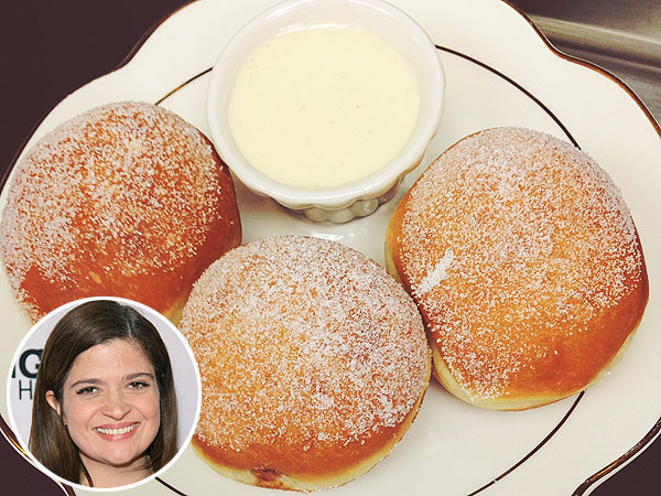 Alex Guarnaschelli Raspberry Beignets
