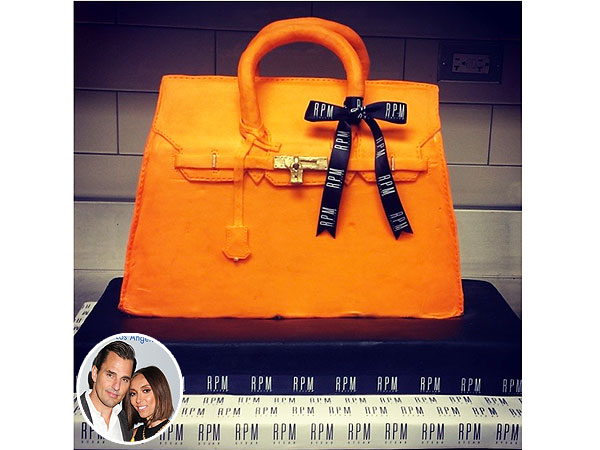 replica birkin bag - Giuliana Rancic, Bill Rancic; Hermes Birkin Birthday Cake; Chanel ...