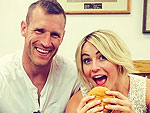 Julianne Hough and Boyfriend Have a Burger Date in Idaho
