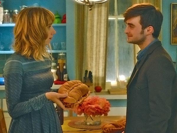 Fools Sandwich , Zoe Kazan and Daniel Radcliffe
