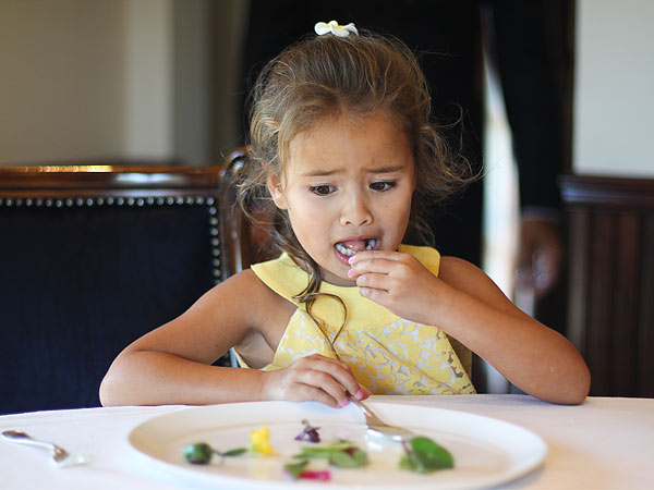 FOUR-YEAR-OLD REVIEWS THE FRENCH LAUNDRY