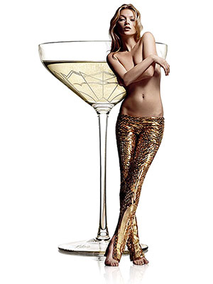 Kate Moss's Breast Inspired a Champagne Glass