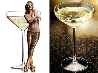 Which of Kate Moss's Body Parts Inspired a Champagne Glass? | Kate Moss