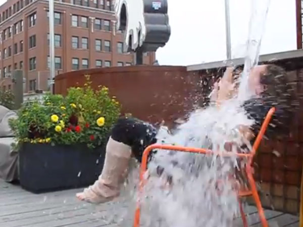 Stephanie Izard Ice Bucket Challenge