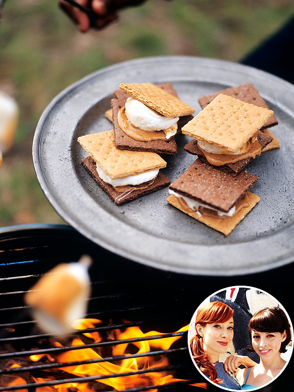S'mores Around a Campfire