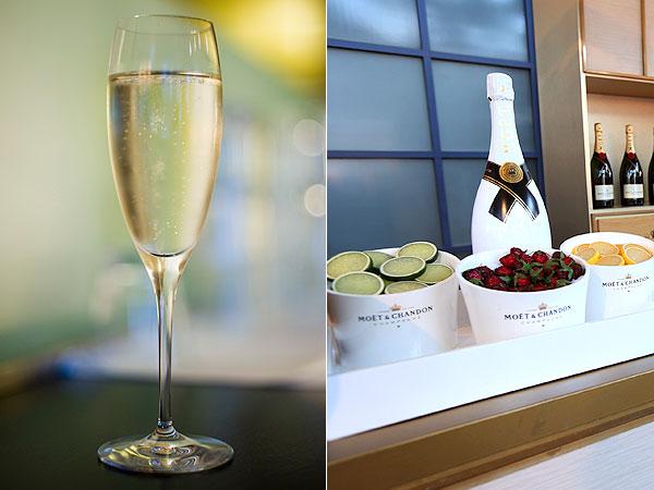 U.S. Open Champagne Garnish Bar