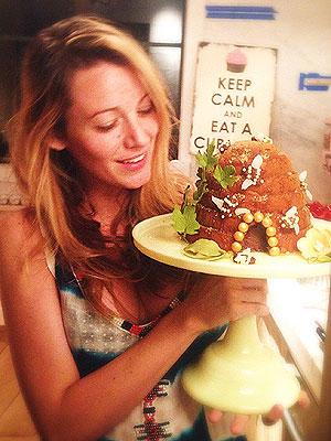 Blake Lively Beyonce Birthday Cake