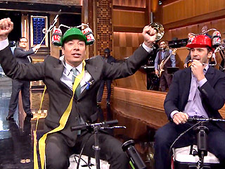 Jimmy Fallon Cooler Scooter Race