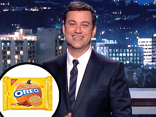 Jimmy Kimmel Pumpkin-Spiced iPhone