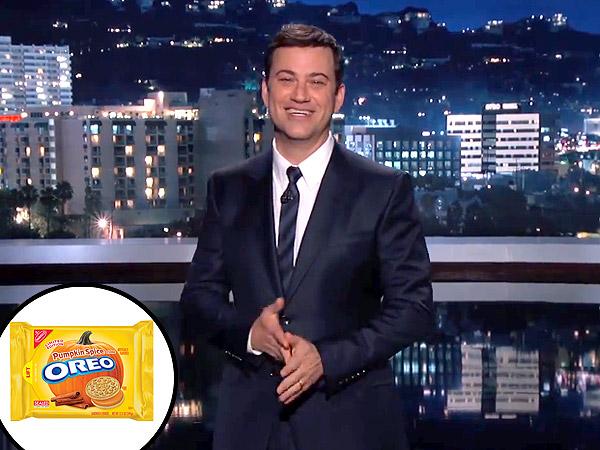 Jimmy Kimmel Pumpkin-Spiced iPhone