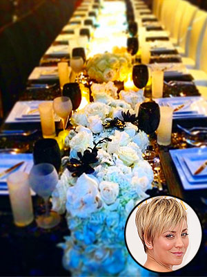 Kaley Cuoco Dinner Party