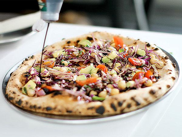 Ellen DeGeneres Vegan Pizza
