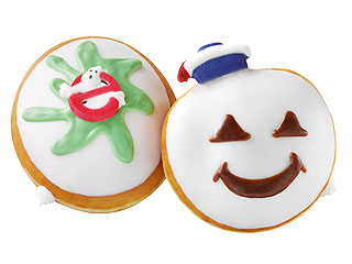 Krispy Kreme Reveals Ghostbusters Themed Doughnuts