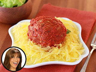 Meatballs on Spaghetti Squash