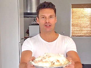 Ryan Seacrest Pie for Jimmy Fallon Birthday