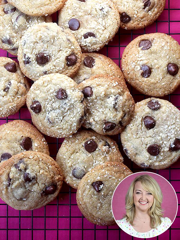 Bakerella Almond Cherry Chocolate Chip Cookies