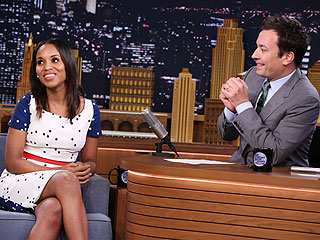Kerry Washington on Jimmy Fallon
